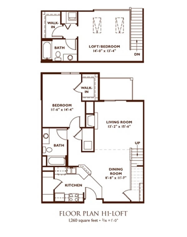 Directions to nantucket luxury apartments in madison wisconsin for Cottage plans with loft and big kitchen